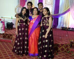 Rajmohan-Vimala Family