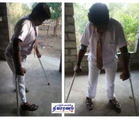 mini-Kishore Kumar going to school now
