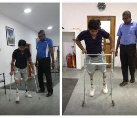 mini-Kishore Kumar has been back _ forth to Colombo for adjustments