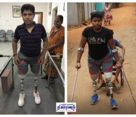 mini-Kishore Kumar training hard